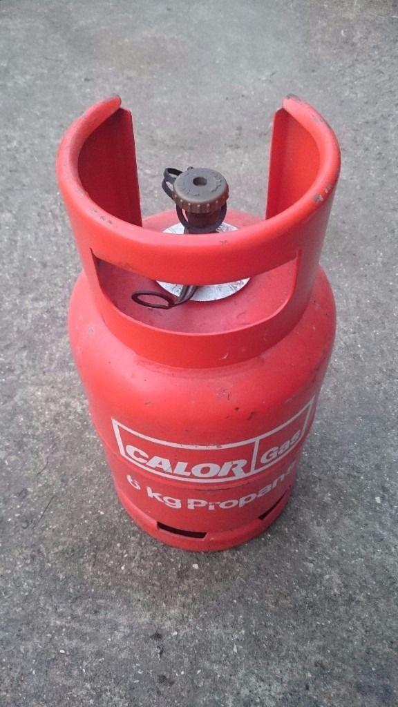 Calor 6kg Propane Gas bottle FREE DELIVERY