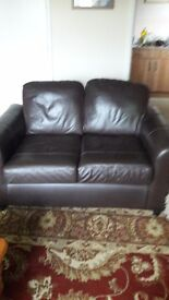 Three and a two seater sofas for sale £50 for the two in good used condition