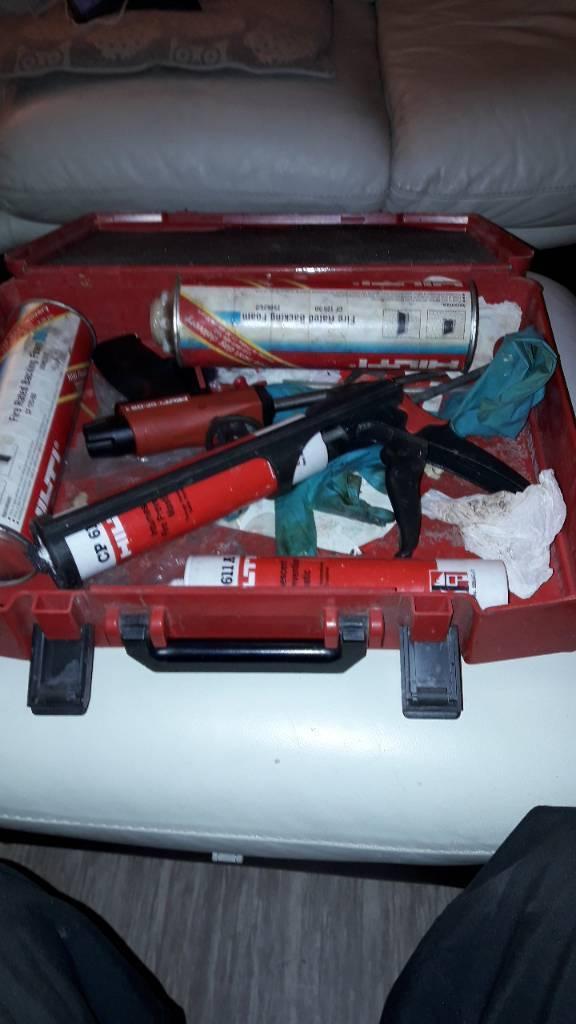 Fire kit hilti