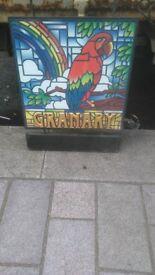 original granary sign