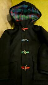 Boys duffle coat 6-7 years