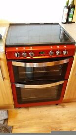 Freestanding New World Electric Oven (Red)