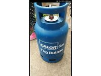 7kg butane calor gas bottle FULL