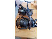 pair of SKS fishing reels