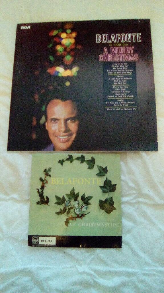 BELAONTE-1 X CHRISTMAS LP & 1 X CHRISTMAS EP-EX
