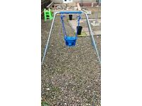 outdoor toddler swing