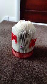 Christmas home made candle