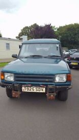Land rover discovery 2.5 tdi automatic 7 seater