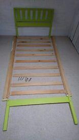 Single pine bed frame (suit child)