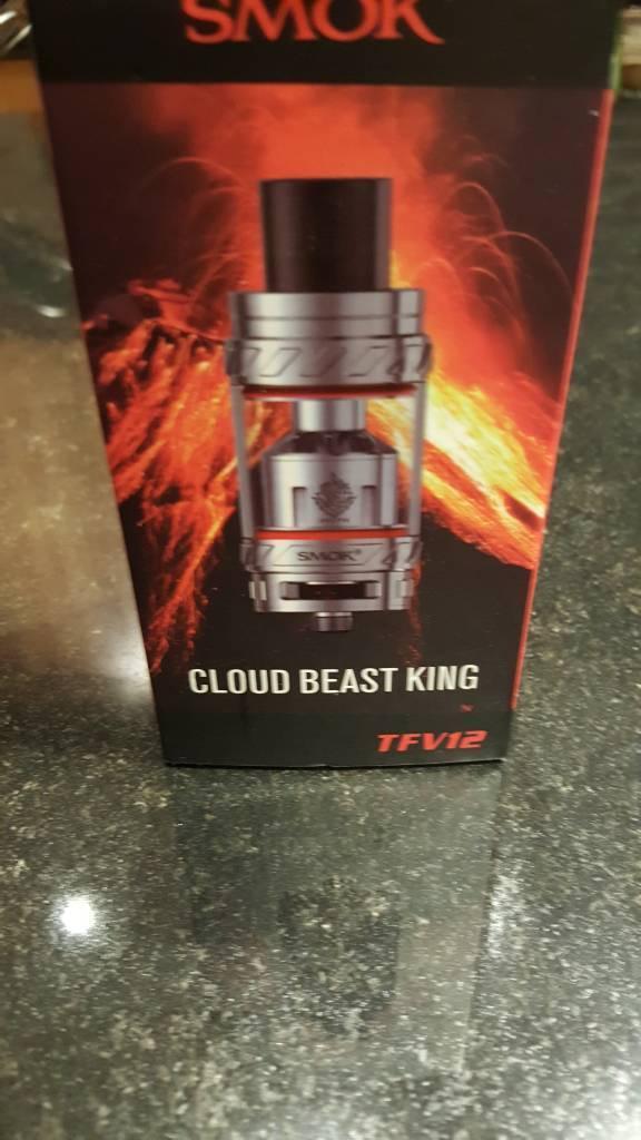 Smok vape tank tfv12 cloud beast king brand new sealed