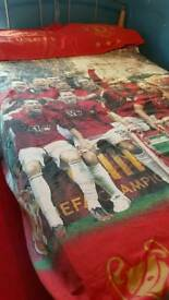 Man United quilt