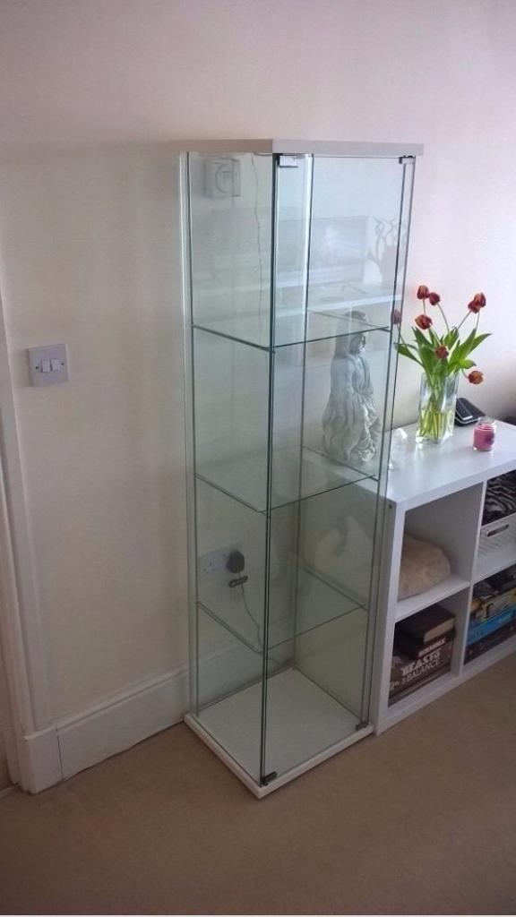 Ikea Detolf Glass Door Display Cabinet In Crossgar County Down