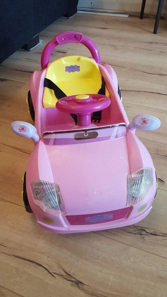 Kids peppa pig electric car