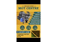 EXPERIENCED MOT Tester and Mechanic wanted to start immediately. CALL 07739822875 NOW