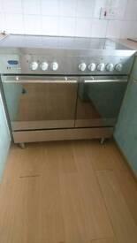 Full electric range cooker