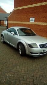 Audi TT 225bhp 6 months MOT no advisories