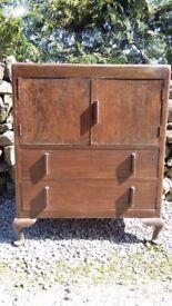 Cabinet: 'TallBoy': Wooden Storage Cupboard.