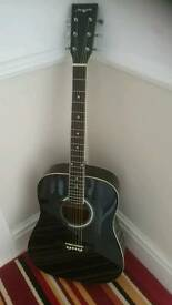 Left hand acoustic guitar