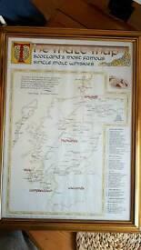 Malt whiskey map