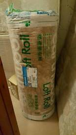 Roll of 200mm top up loft insulation