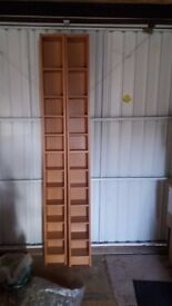 IKEA Benno CD/DVD Tower (Beech colour) - ONE ONLY!