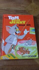 Collectable Tom and Jerry annual 1976