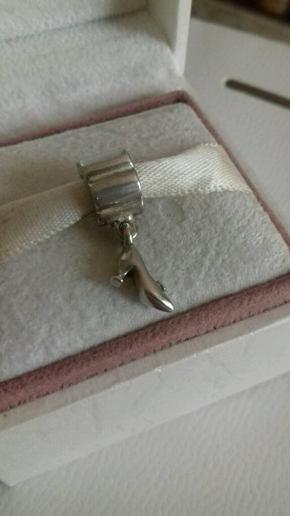 Genuine Pandora Stiletto Charm