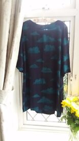 White Stuff Tunic Top Size 18