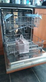Fully integrated SMEG dishwasher for sale. Collection Knottingley.