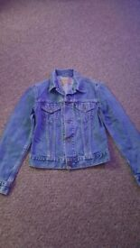Womans levis jacket.