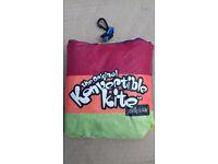 Konvertible Kite. Especially for kids.