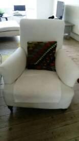 Antique Victorian style armchair