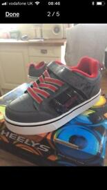 Heelys size 13 with flashing