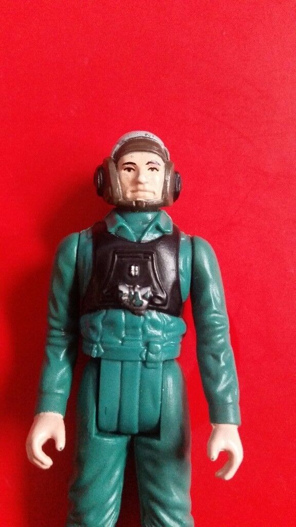 Star wars vintage figure A wing pilot