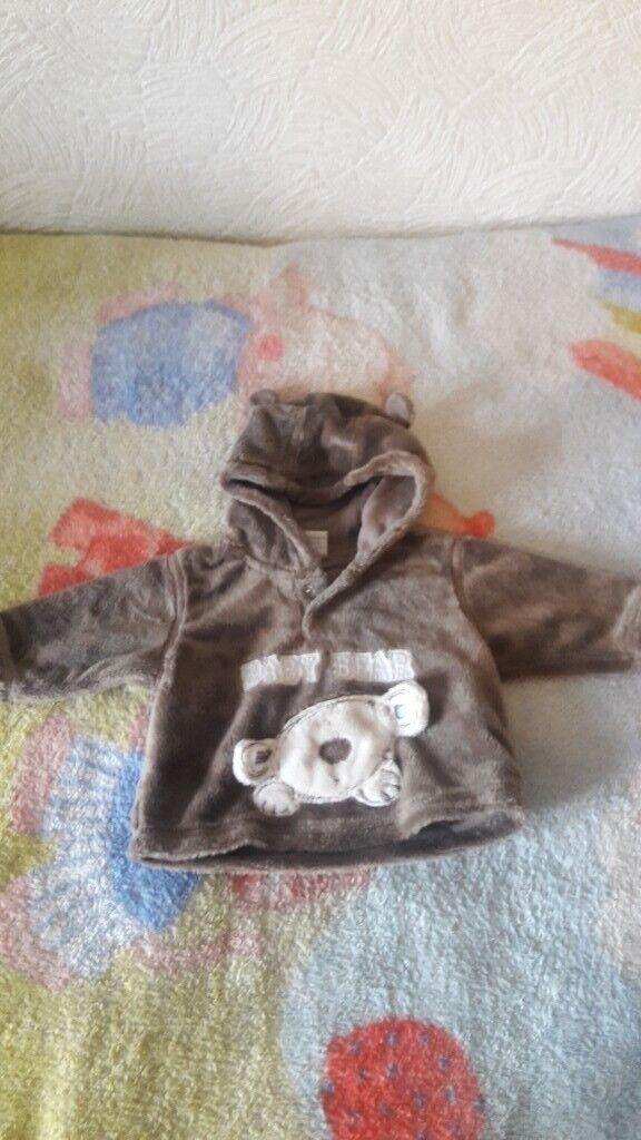 cute baby bear hoodie jumper (0-3 months) | in Harborne, West Midlands |  Gumtree
