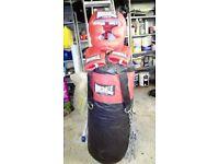 Lonsdale Punchbag, Gloves & Headguard