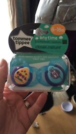 Tommee Tippee dummy's