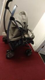 Graco Pram with Free Car Seat