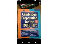 Book Cambridge Toefl prep