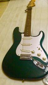 Fender Squier Strat (Dark Green)