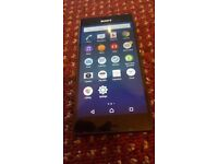 SONY XPERIA Z3 MINT AND BLACK AND UNLOCK TO ALL NETWORK