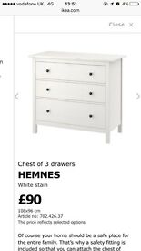 Lovely set of chest of drawers