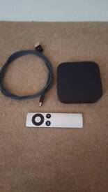 Apple TV box in great condition hardly used