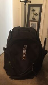 Reebok traveling or hockey bag