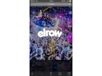 3 ELROW TICKETS AT MOTION NEW YEARS EVE