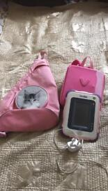innotab 1 and scooby doo game and cat bag