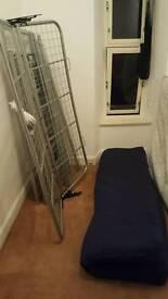 bunk bed / sofa and wardrobe