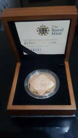 2008 FIVE POUND GOLD PROOF COIN