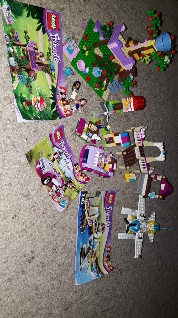 Assortment of Lego Friends