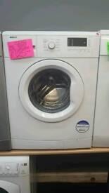 BEKO 7KG LOAD 1200 SPIN WASHING MACHINE IN WHITE